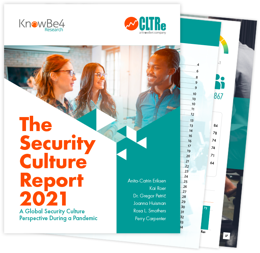 KnowBe4 Research Launches 2021 Security Culture Report
