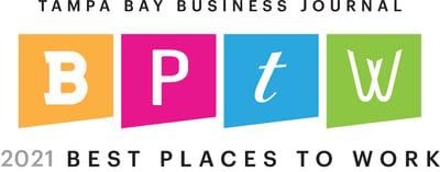 2021 TBBJ Top Workplace Logo