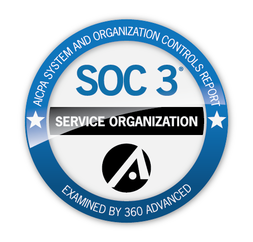 360 Advanced SOC 3 Seal of Completion