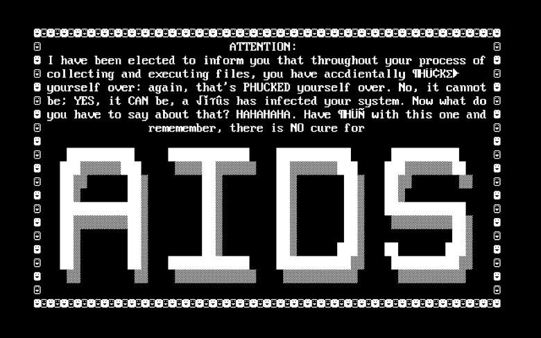 AIDS Trojan Ransomware