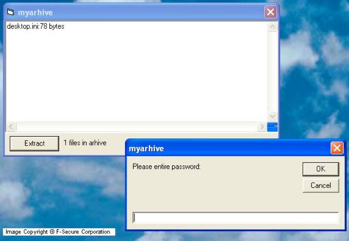 Archiveus Trojan ransomware virus