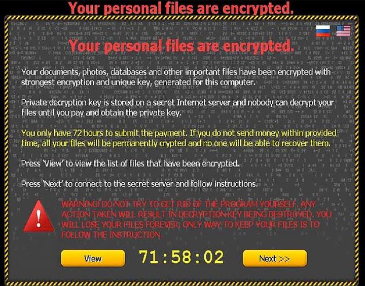 CTB (Curve-Tor-Bitcoin) Locker Ransomware