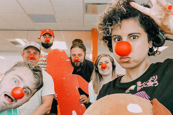 Red Nose Day Genells