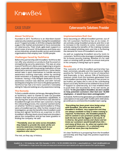 Solutions Provider Case Study