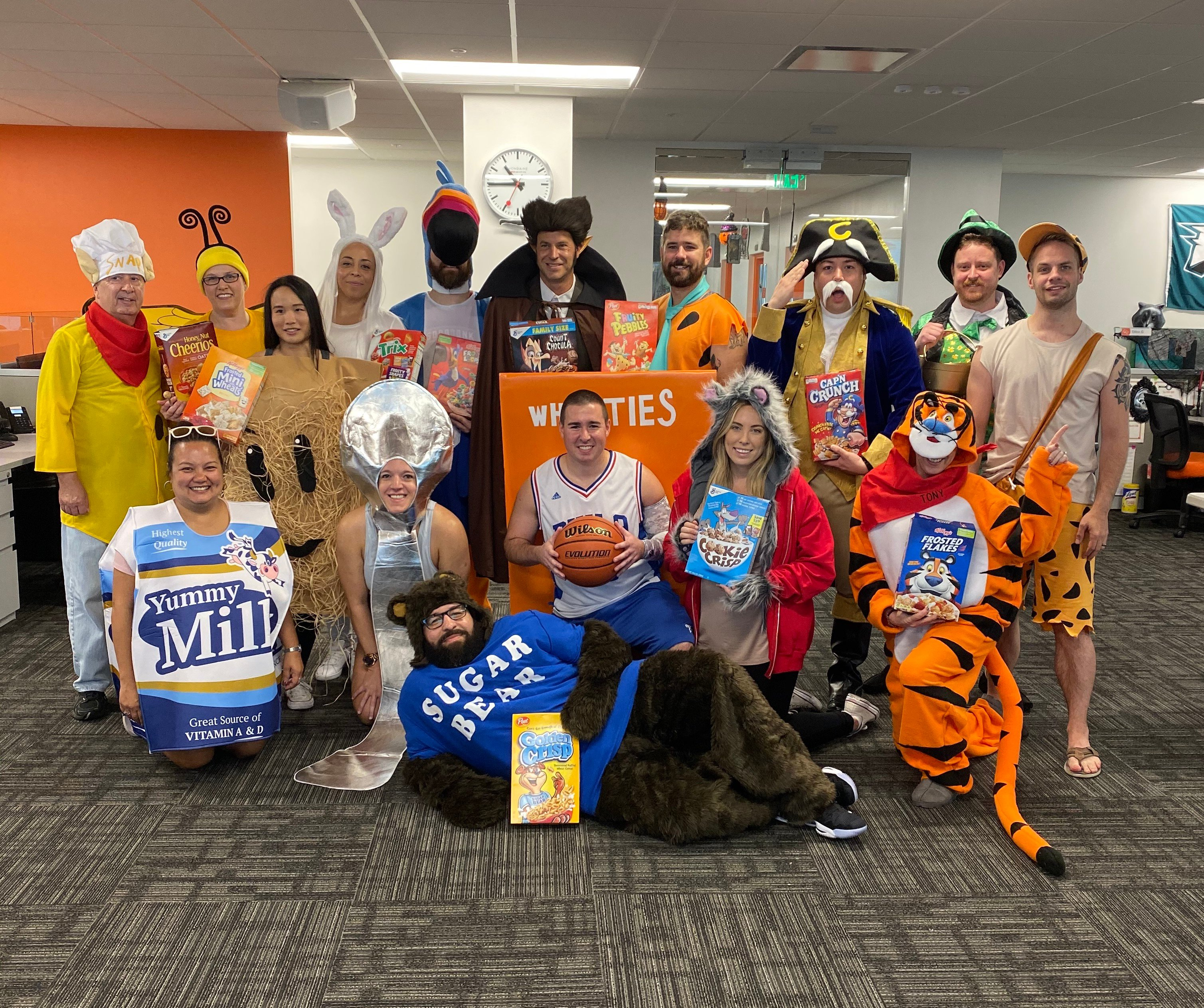 KnowBe4 Halloween 2019 Cereal Characters