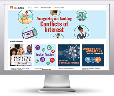 KnowBe4 Compliance Plus Training Screenshot