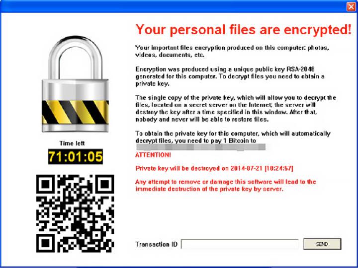 CryptoBlocker Ransomware