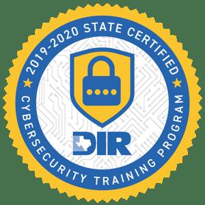 DIR Cybersecurity Training Logo 2019-2020
