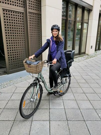 Daniela - bike