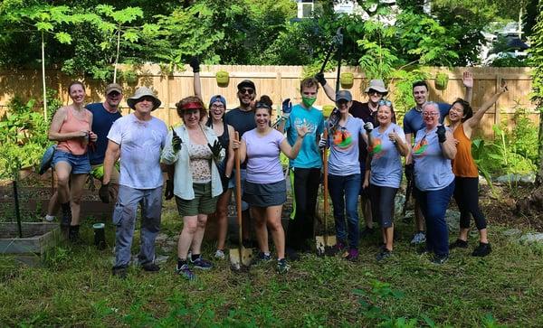 Farm 527 Clean Up Community Garden 1