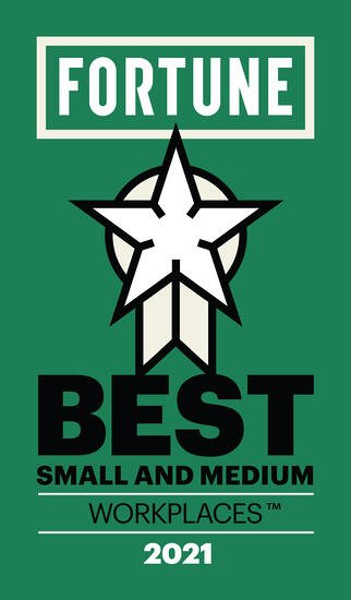 Fortune Best Small and Medium Workplace Award 2021