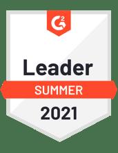 G2 Summer 2021 Leader Badge