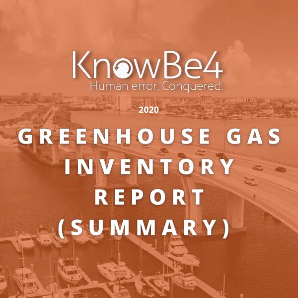 Greenhouse Gas Inventory Report (Summary)