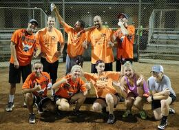The Game That Takes KB4 Softball Team To The Playoffs!