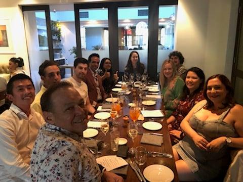 Australia Team Dinner