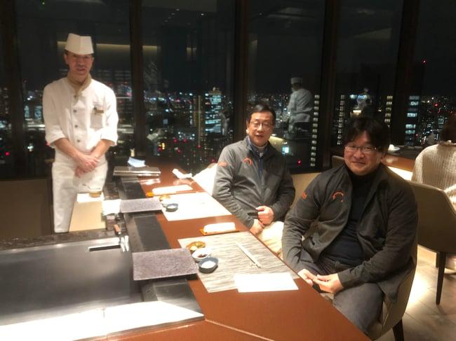 Japan Holiday Dinner