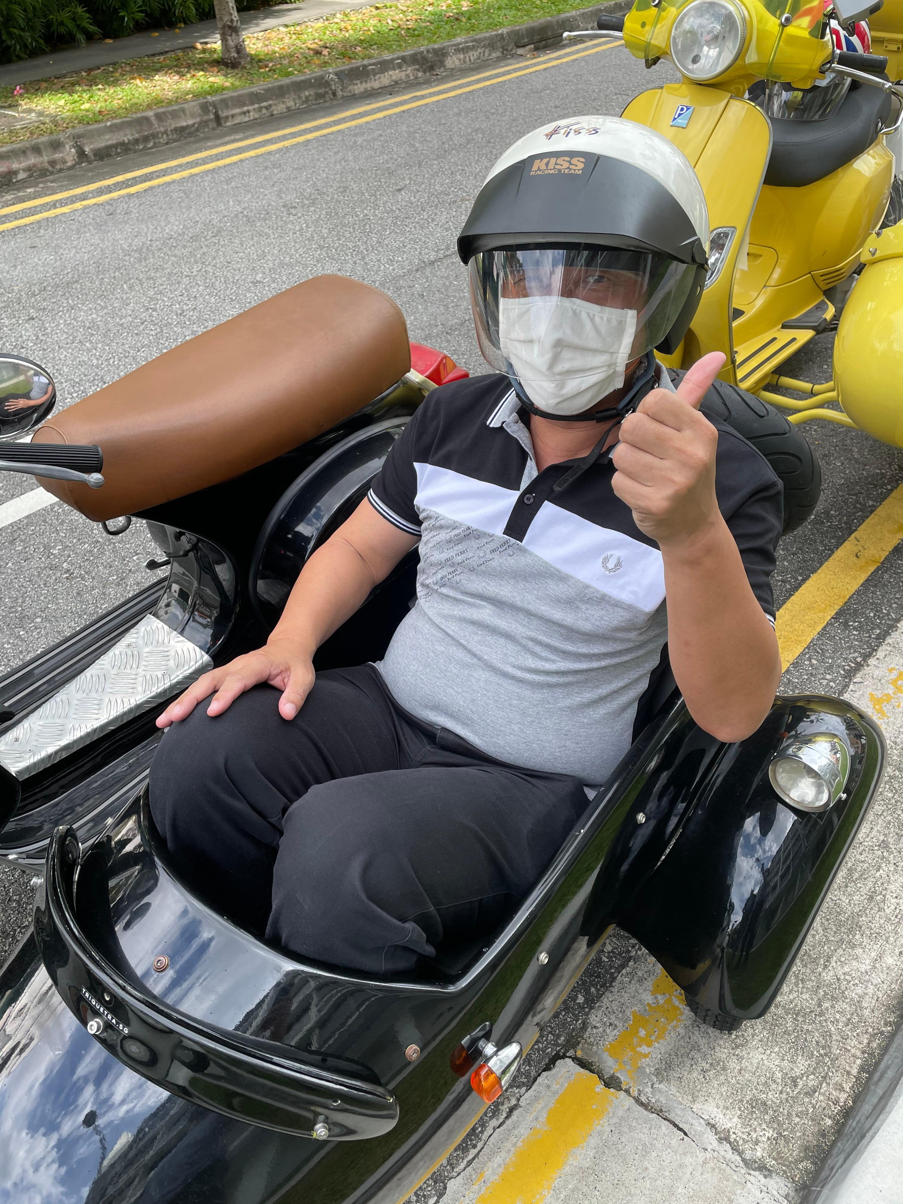 Singapore Scooter Ride 3