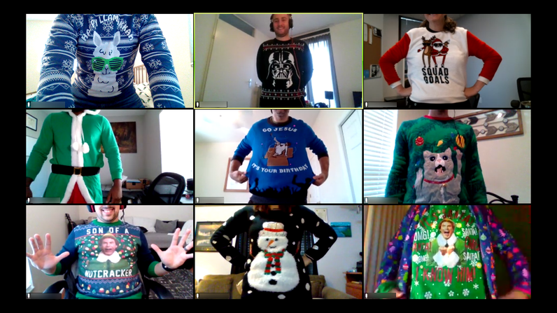 Training Team Ugly Sweater