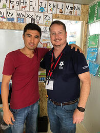KnowBe4's John Just Volunteers to Help Struggling Refugees Learn Computer Skills