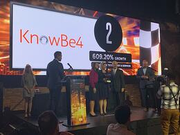 KnowBe4 Takes Number Two Spot for the Tampa Bay Business Journal's Fast 50 Awards