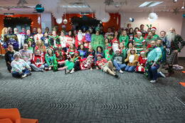 Ugly Sweaters Bring Holiday Cheer!