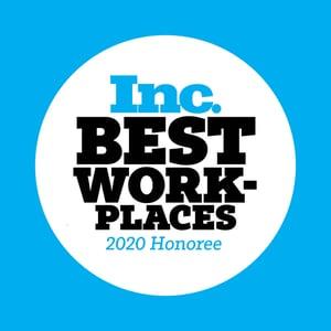 Inc 2020 Best Workplace
