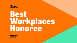 KnowBe4 Ranks Among Highest-Scoring Businesses on Inc. Magazine's Annual List of Best Workplaces for 2021