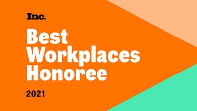 Inc Best Workplace 2021