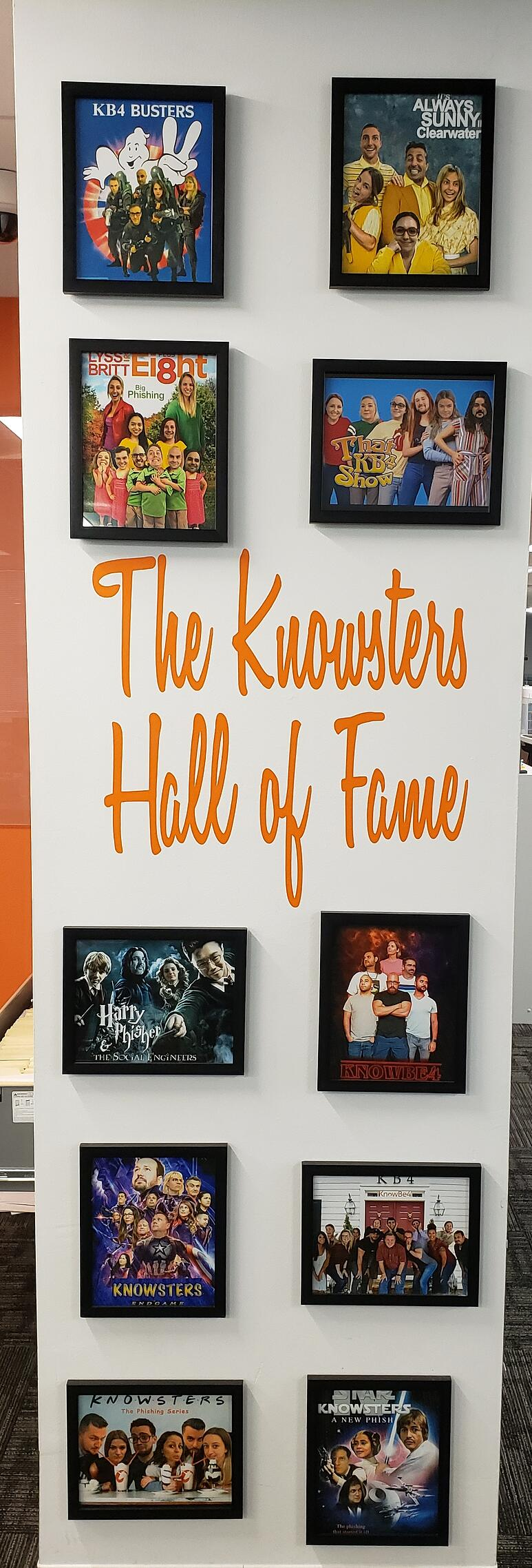 Knowsters Hall Of Fame