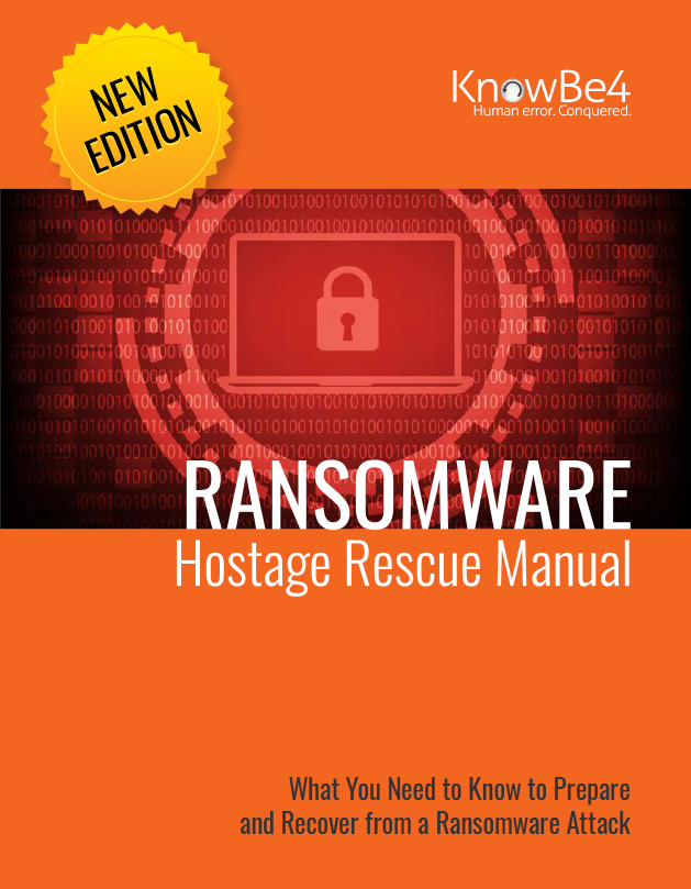 KnowBe4 Ransomware Hostage Rescue Manual