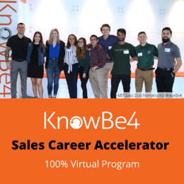 KnowBe4's Sales Career Accelerator