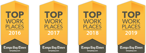 KnowBe4-Tampa-Bay-Times_Top-Places-To-Work-4-Consecutive-Years-2016-2017-2018-2019