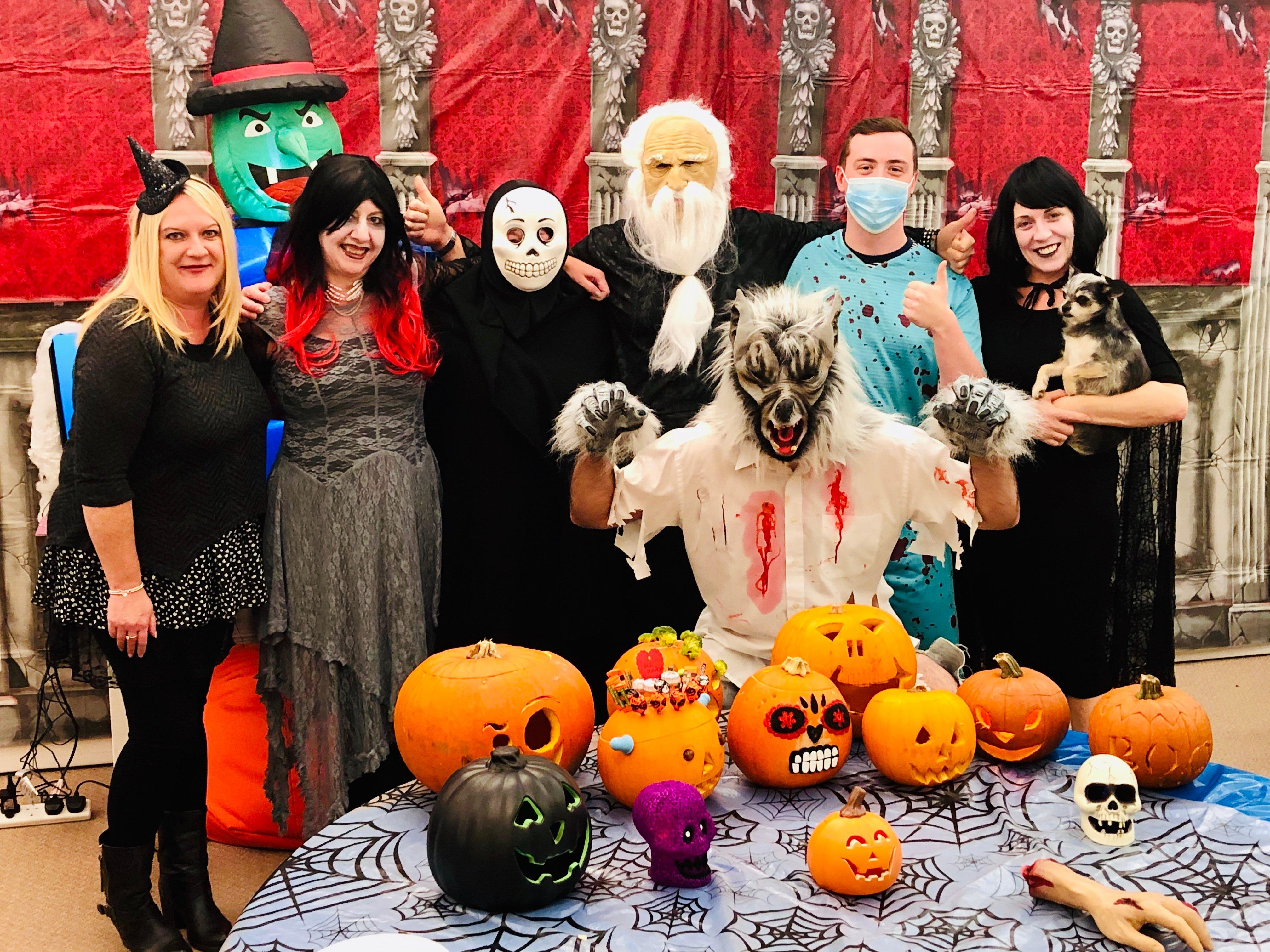 Team UK Halloween