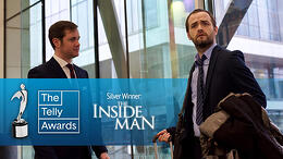 "KnowBe4's ""The Inside Man"" Series Wins a Silver Telly Award"