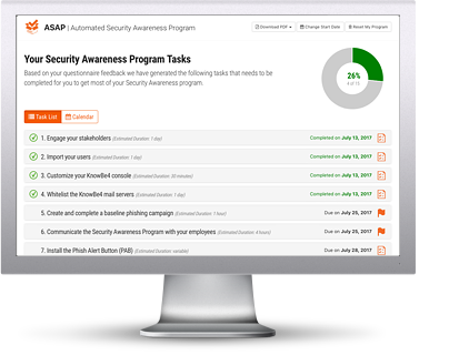 Automated Security Awareness Program (ASAP)