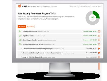 Automated Security Awareness Program