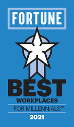Fortune and Great Place to Work® Name KnowBe4 One of the 2021 Best Workplaces for Millennials™