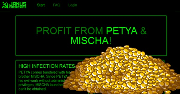Petya and Mischa Ransomware-as-a-Service