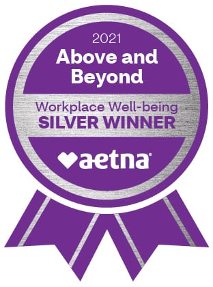 2021 Workplace Well-being Award Emblems_Silver_FullColor