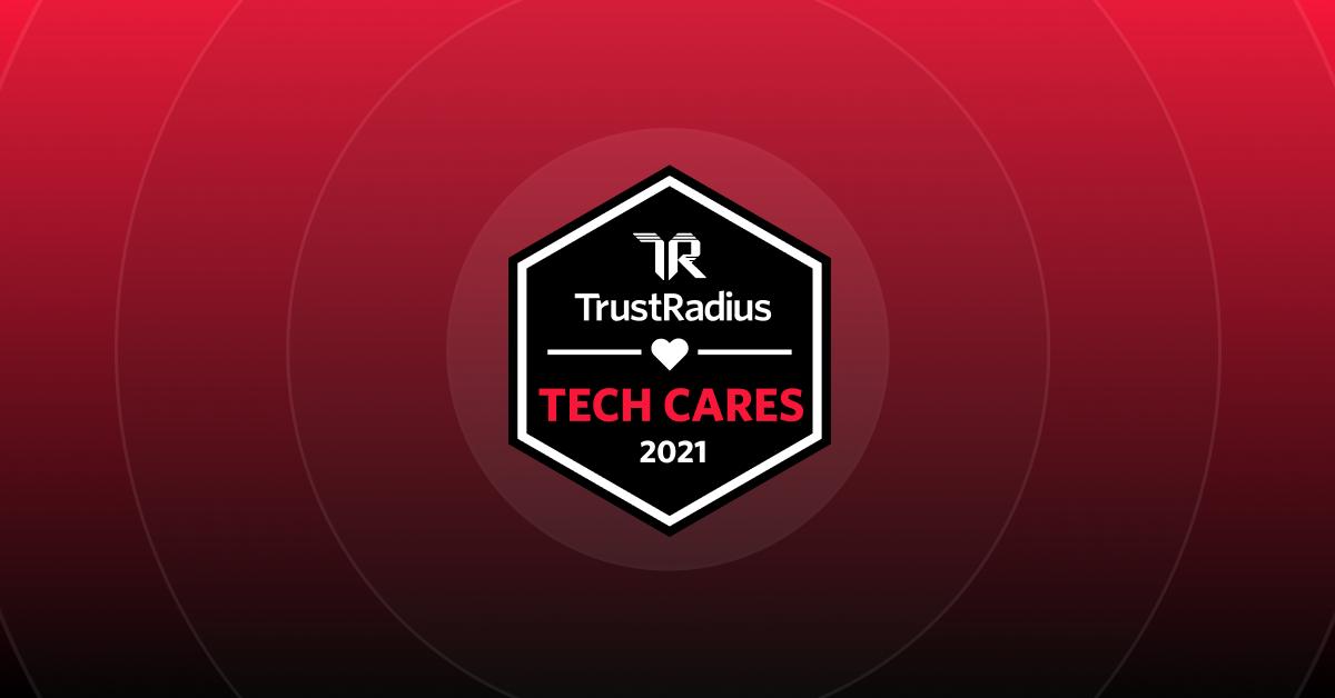 TrustRadius Tech Cares Award KnowBe4