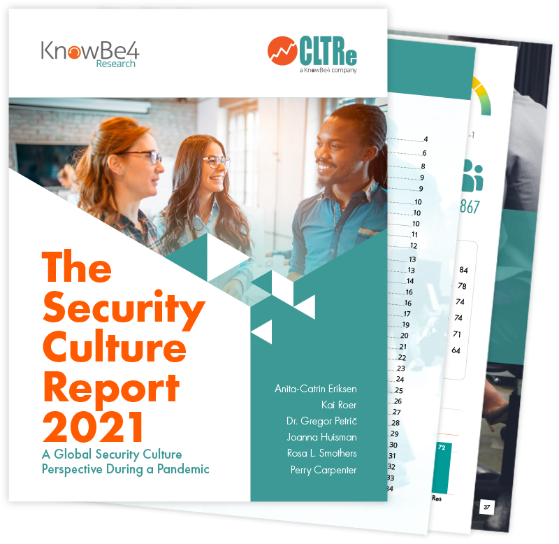 The Security Culture Report 2021