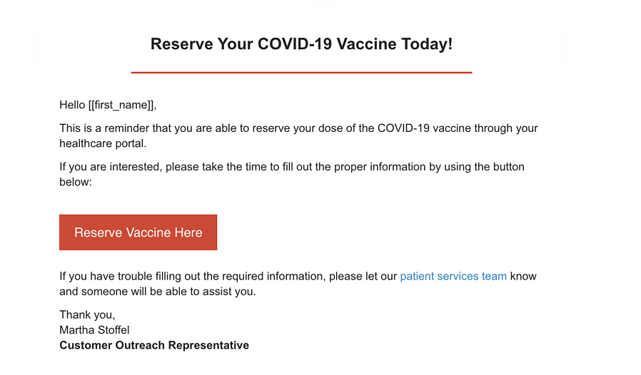 KnowBe4 Warns of Potential Phishing Attacks Exploiting COVID-19 Vaccine Progress