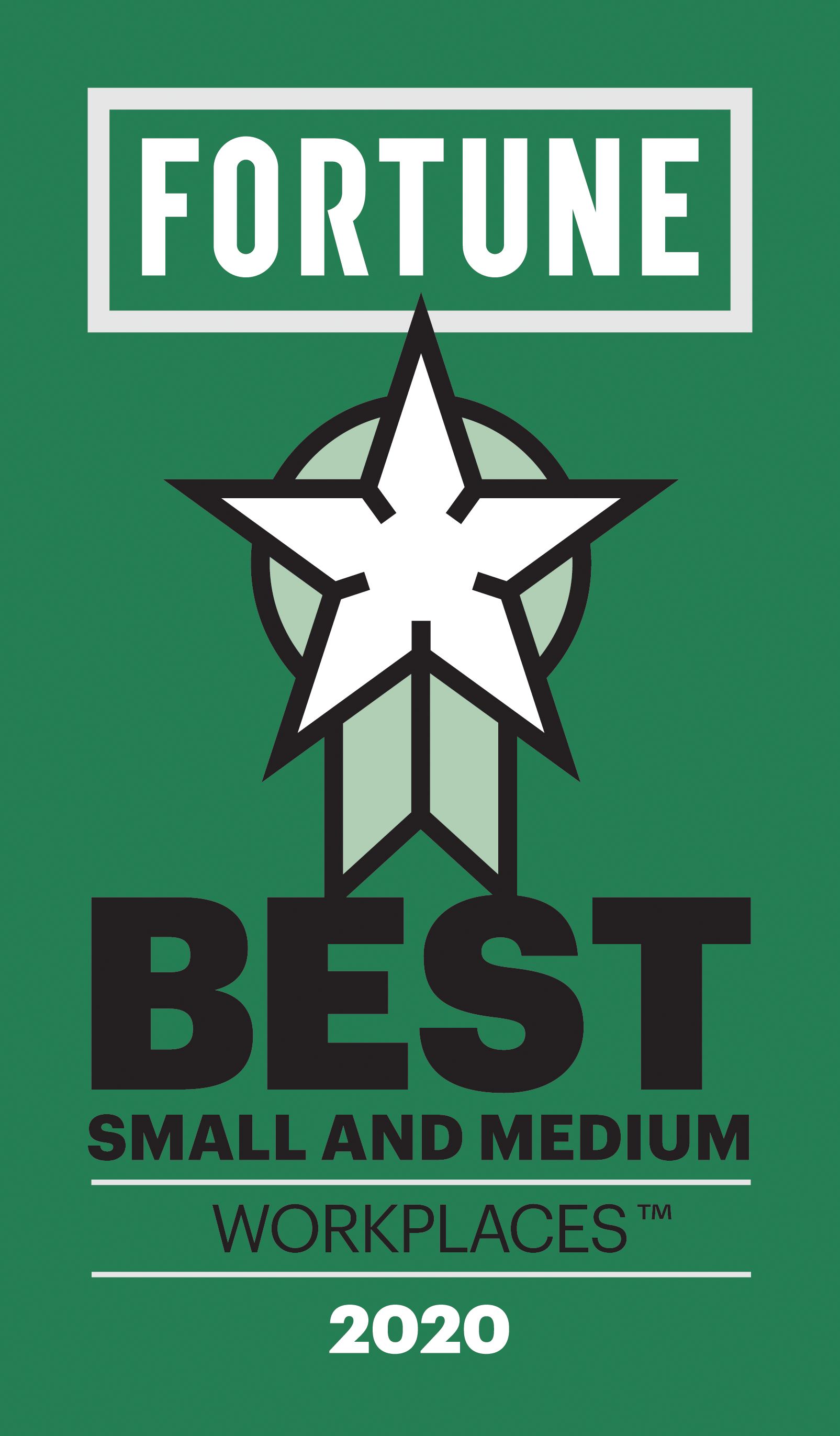 UPDATED - Fortune Best Small Medium Workplaces Logo 2020
