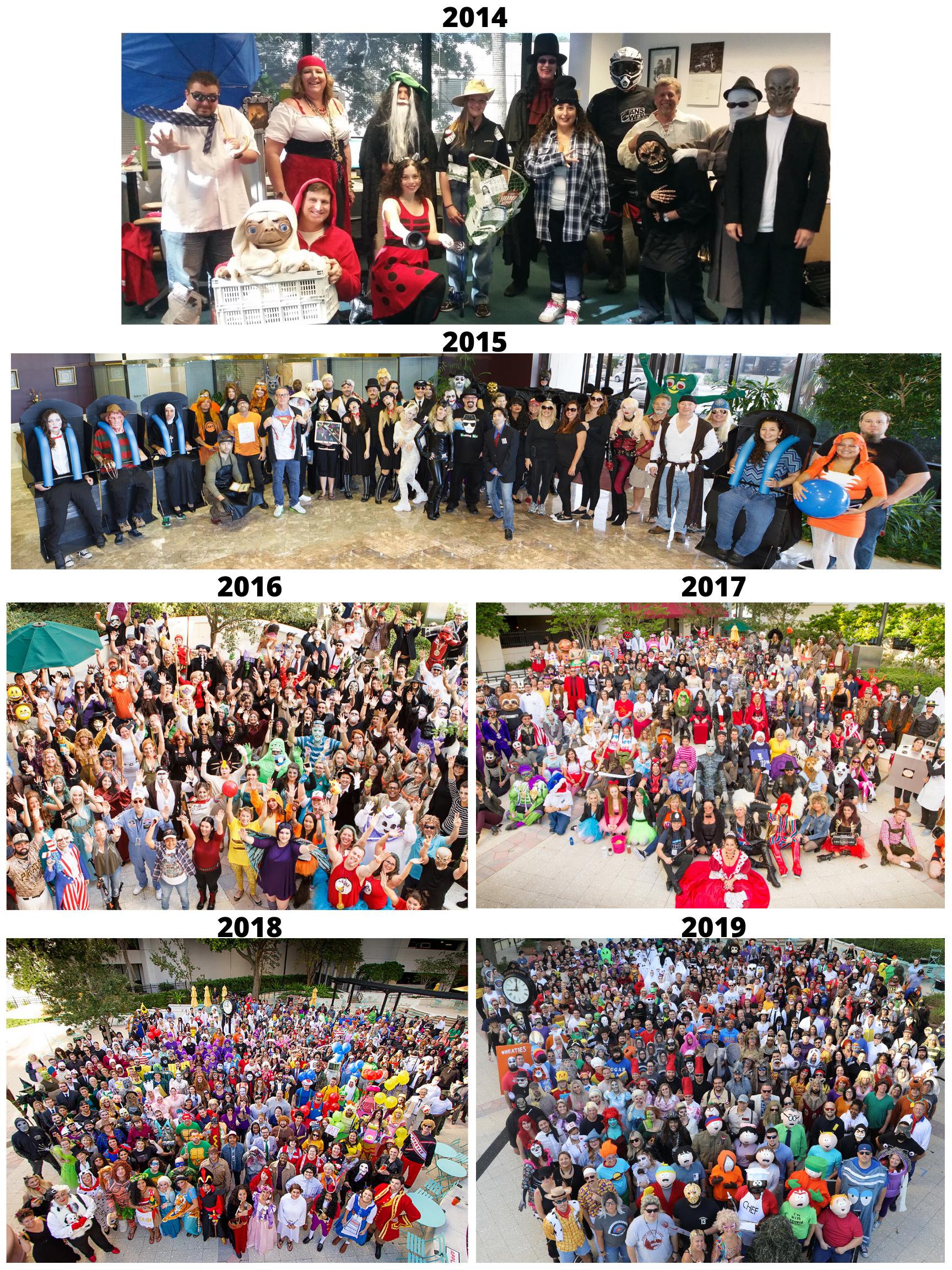 KnowBe4 Halloween 2014-2019
