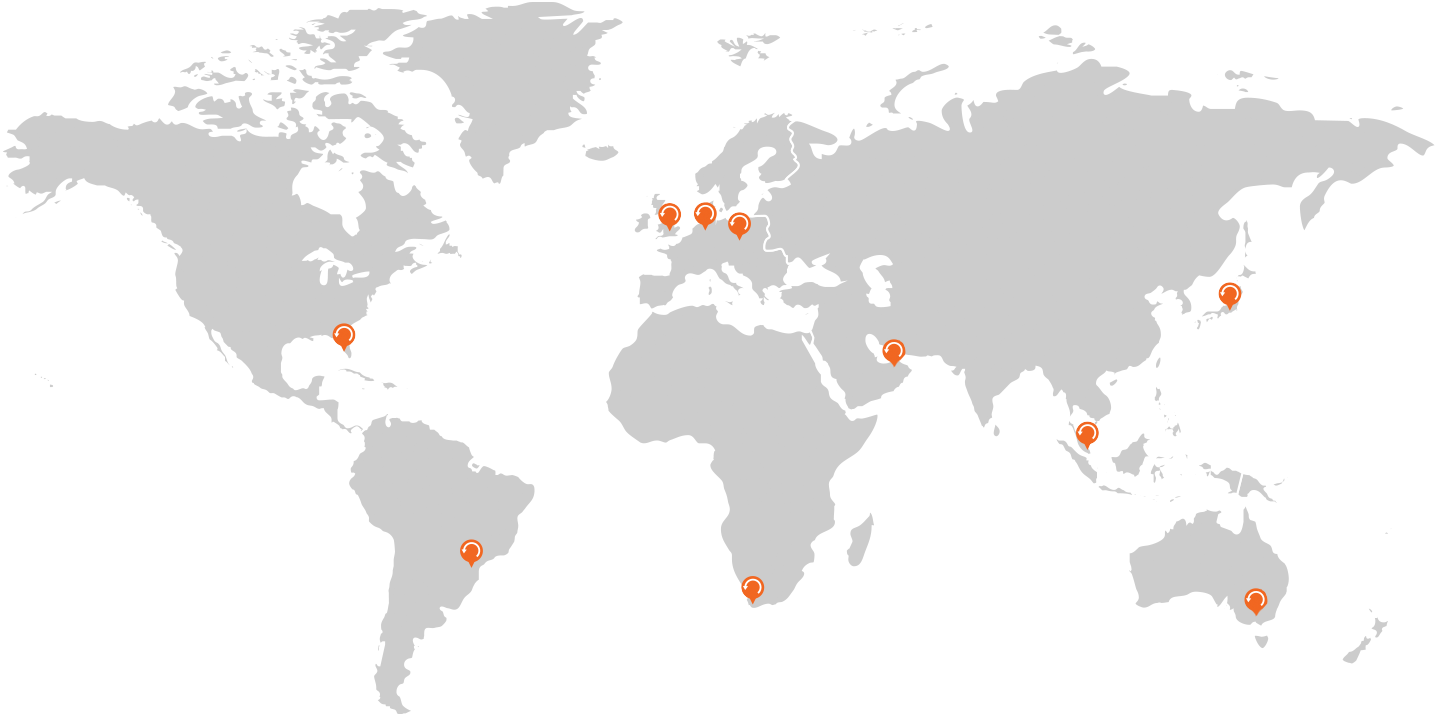 KnowBe4-Contact-Us-World-Map