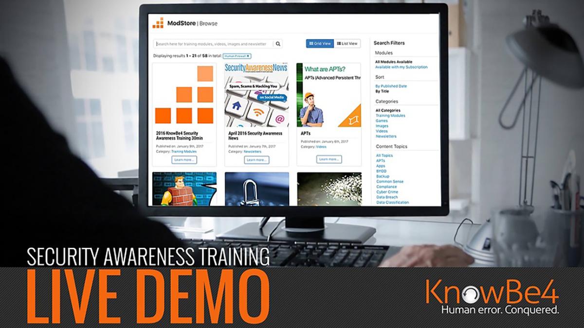 Security Awareness Training | KnowBe4