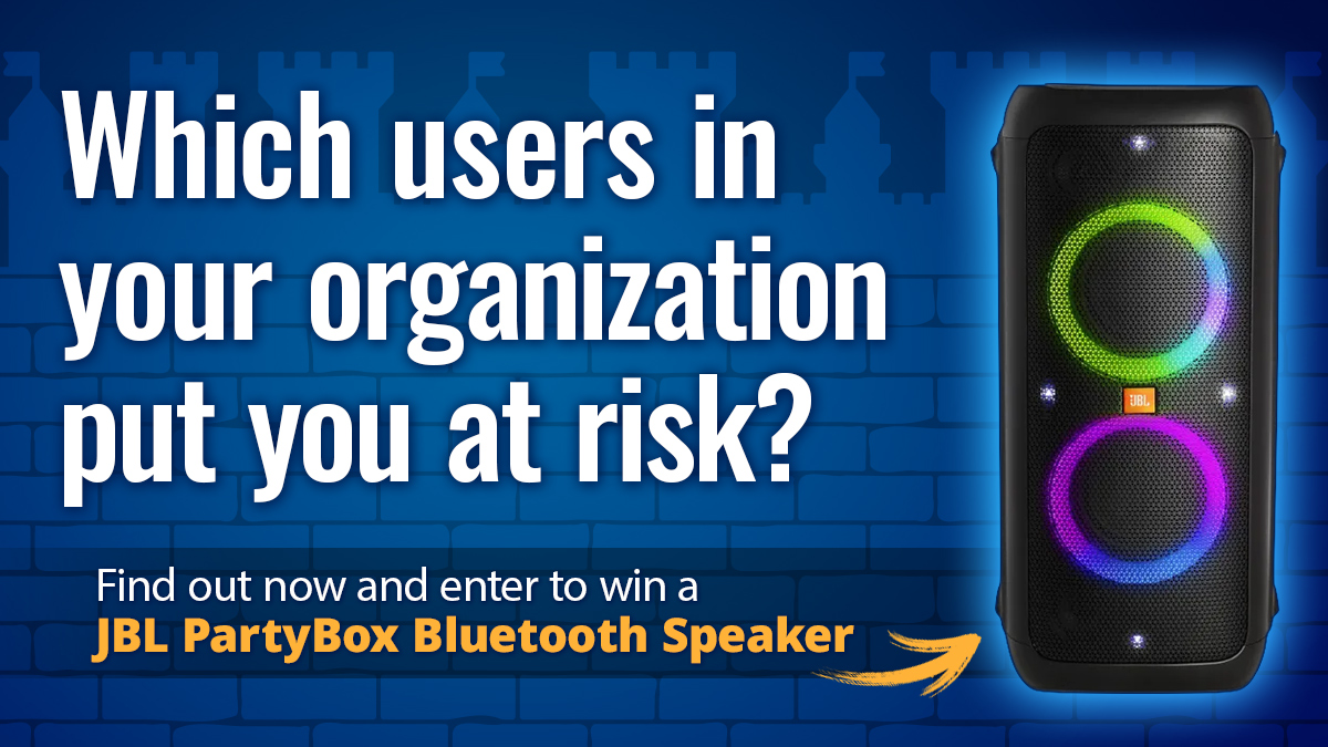 Free Password Exposure Test Contest - Win a JBL PartyBox Speaker