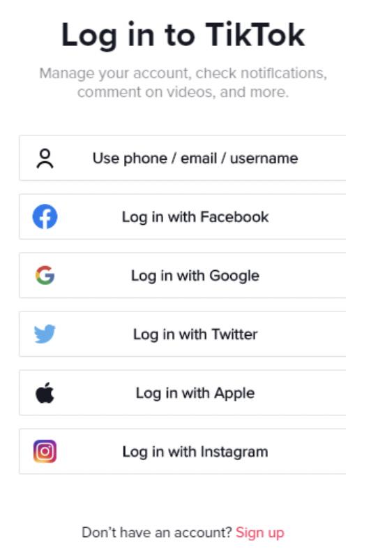 tiktok phishing email