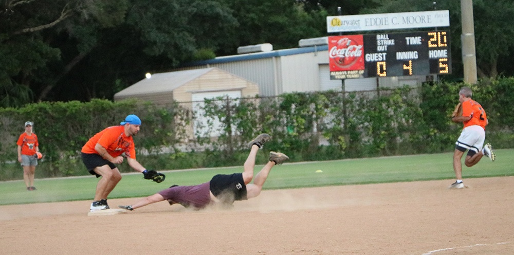 Sliding to 2nd